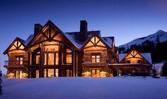 dream winter cabin