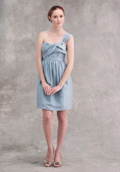 Jenny Yoo one shoulder Feb 2012 collection