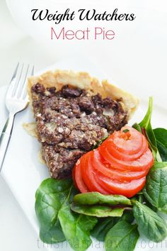 Meat Pie Weight Watchers Recipe