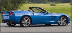 Avis Rental Car Fleet - Chevrolet Corvette Convertible