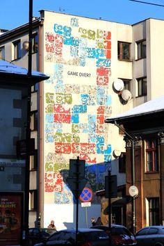 Mayamural, day 5, last. 11/18 Day 5, last. #maya #mural #cracow #2012 #graffiti #streetart Cracow, Poland.