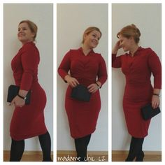 Pencil dress with structure
