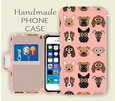 LG K10 Phone wallet case - Pink Puppy Dog LG G5 , LG G4, LG G3, LG Tribute 5, LG Leon, LG Spirit, LG K10 ,LG K7,