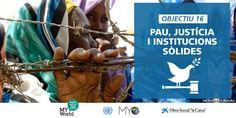 Pau, justícia i institucions sòlides: objectiu nº 16 de desenvolupament sostenible (ODS).