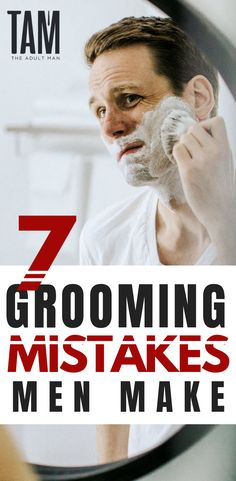 7 Grooming Mistakes Men Make - Men Grooming Diy Beard Oil, Beard Wax, Mens Facial, Facial Hair, Beard Trimming Styles, Beard Grooming, Grooming For Men, Beard Softener, Best Barber