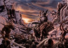 Ragnarok Norse Mythology | RAGNAROK by soys on deviantART the end of the ,mythology all in one big battle