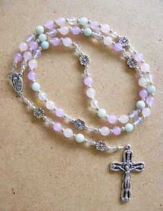 Rosary beads!Mom said the Rosary every day,It's one of the things I like to do to feel close to her.
