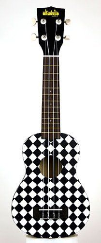 Kala Ukadelic Checker Soprano Ukulele by Kala. $81.00. Ukadelic captures all that is fun about the ukulele. These colorful ukes incorporate art, culture and humor into their design. They are extremely playable and well made. We like em' and we think that you will too. We will go so far as to say that you will go Ukadelic over them!