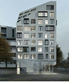 Composition façade