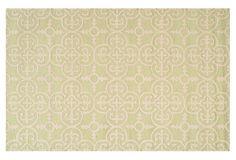Packer Rug, Light Green/Ivory on OneKingsLane.com