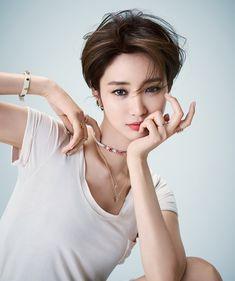 Girl crush, Ko Joon-hee's short hair