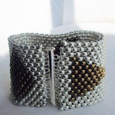 """Bracelet """"Schema"""" Hand-Woven"""