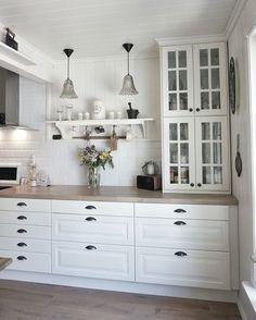 IKEA kitchen ! #behindabluedoor #kitchen: