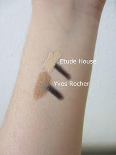 Rosalie & Violetta: Etude House VS. Yves Rocher  #etudehouse #Beauty #Makeup #cosmetic #skincare  #yvesrocher