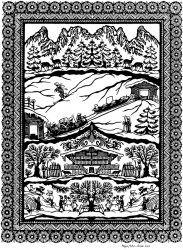 Scherenschnitt Funi Monochrom, Paper Cutting, Paper Art, City Photo, Pretty, Crafts, Image, Ideas, Design