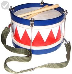 Schoenhut Multi-color Tunable Drum Patented Design with Realistic Sound and Style Kids Drum Set, Drums For Kids, Toys For Little Kids, Hand Drum, Tin Gifts, Cool Toys, Cool Gifts, Musical Instruments, Amazon