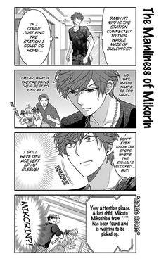 Gekkan Shoujo Nozaki-Kun 35 Page 11....ROFL MIKORIN U PRECIOUS BOY XD