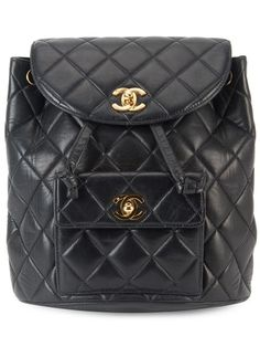 Shop Chanel Vintage quilted chain backpack in Amore from the world's best independent boutiques at farfetch.com. Shop 400 boutiques at one address.