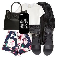 """""""Untitled #78"""" by diva-fashionista ❤ liked on Polyvore featuring мода, Zara, Neil Barrett, Finders Keepers, H&M, Prada, Casetify, Melissa Joy Manning, women's clothing и women"""