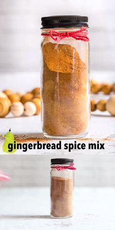 Make this DIY gingerbread spice mix, it's great to make gingerbread cake, gingerbread cookies, or a simple holiday gift. It's less expensive than buying premixed gingerbread spice and it's super easy. #gingerbread #diygift #foodiegift Seasoning Recipe, Gingerbread Cake, Intuitive Eating, Good Healthy Recipes, Spice Mixes, Cravings, Spices, Dessert Recipes, Cooking Recipes