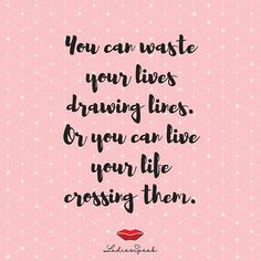 Cross the line.. . .  TURN NOTIFICATION ON!  Follow @LadiesSpeak for more amazing content! . #ladiesspeak #ladiesquotes #womenempowerment #ladyboss #quotestoliveby #quotesaboutlife #smile #fashionquotes #beautiful #lifequotes #lifeisbeautiful #inspirationalquotes #instagood #instadaily #SundayRead #WeekendVibes #crosstheline #dontbeafraid Quotes To Live By, Life Quotes, Dont Be Afraid, Weekend Vibes, Fashion Quotes, Life Is Beautiful, Women Empowerment, Live Life, Line