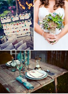 Sewing Themed Wedding Inspiration I love the succulent bouquet.I also love the teal/turquoise colour Circus Wedding, Wedding Pics, Wedding Themes, Wedding Flowers, Dream Wedding, Wedding Decorations, Wedding Ideas, Wedding Bells, Wedding Table