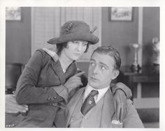 People have asked me why Wallace Reid? My reply is always the same, why not, seen here in 1920's Excuse my Dust