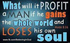 Mark 8:36