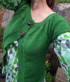 Lady Kina by Muriela knit in a worsted 10 ply yarn it is a FREE download via Ravelry