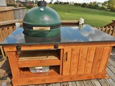 big green egg table plans - Google Search