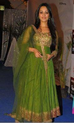 Mehdi Anarkali Salwar Kameez Bollywood Designer by Ethnicdresses, $215.89