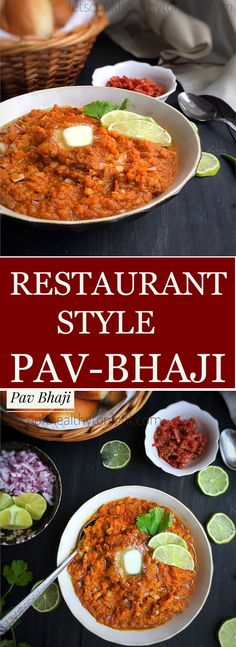 Make Pav Bhaji Restaurant style with this perfect recipe for Pav Bhaji. Pav Bhaji is the most popular Mumbai street food. Make at home with this recipe