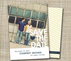 photo save the date  true love. by westwillow on Etsy, $15.00