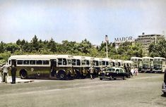 Old Lorries, Double Decker Bus, Historical Photos, Lisbon, Buses, Vintage Photos, Portugal, The Past, Old Things