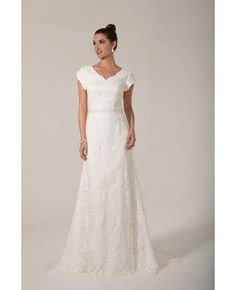 b300f5bcc28 8 Great Venus Bridal Modest Wedding Dresses images