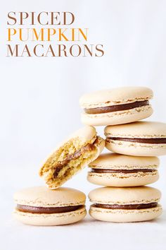 Spiced Pumpkin Macarons from Bakers Royale