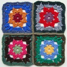 how cute a motif is this?  If I ever do another afghan I may use this.  I will have to do one up just for fun anyway.