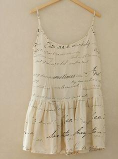The Classic, Shakespeares Sonnet on Linen gauze, U2732. $9.20, via Etsy.