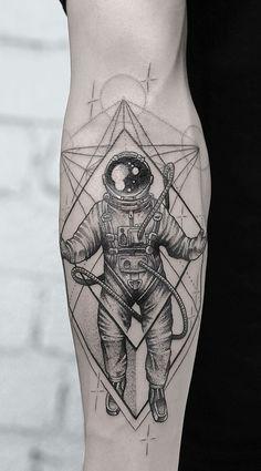 Forarm Tattoos, Dope Tattoos, Baby Tattoos, Body Art Tattoos, Tattoos For Guys, Tattos, Unique Half Sleeve Tattoos, Unique Tattoos For Men, Astronaut Tattoo