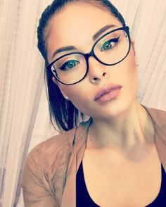 Jesus is C O N S T A N T. He's at all times there to take heed to me, to like me, to cha… - Glasses Frames Glasses For Round Faces, Girls With Glasses, People With Glasses, Cute Glasses, New Glasses, Makeup With Glasses, Stylish Glasses For Women, Womens Glasses Frames, Big Glasses Frames