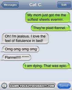 funny auto-correct texts - 15 Most Popular Autocorrects From January, 2011 Autocorrect Funny, Funny Texts Jokes, Funny Disney Jokes, Text Jokes, Farts Funny, Funny Sms, Funny Text Messages, Haha Funny, Hilarious