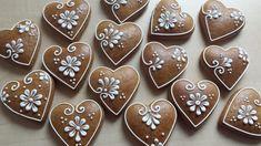 Fancy Cookies, Xmas Cookies, Valentine Cookies, Iced Cookies, Cute Cookies, Royal Icing Cookies, Cookies Et Biscuits, Cupcake Cookies, Gingerbread Decorations