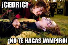 Harry Potter en el Caliz de fuego | Oh Cedric por favor!