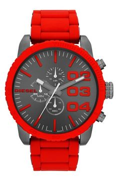 DIESEL® 'Franchise' Large Chronograph Watch, 52mm available at #Nordstrom