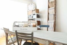 French Larkspur: My Studio Gets a little Redo