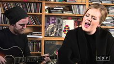 In a stripped-down three-song set at the NPR Music offices, the Grammy-winning U.K. pop star showcases her brilliant voice and seemingly effortless charisma....