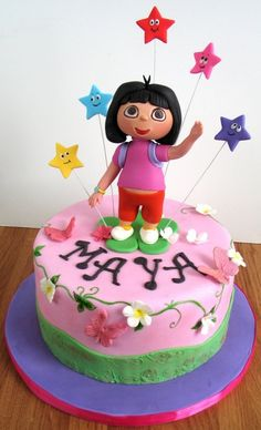 dora...... It has her name and everything!