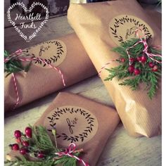 Brown paper packages tied up with string ~ Heartfelt Finds