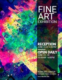 Fine Art Exhibition Flyer Hi Ho Hi Ho Off To Work An All That