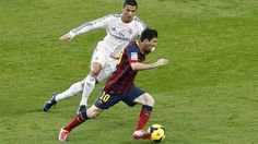 Diego Maradona says there is nothing to choose from between Real Madrid and Barcelona rivals Cristiano Ronaldo and Lionel Messi. The stellar pair's ongoing rivalry has dominated the footballi… Neymar Jr, Cristiano Vs Messi, Messi Vs Ronaldo, Messi 10, World Football, Football Fans, Football Jokes, Clasico Real Madrid, Ronaldo Madrid